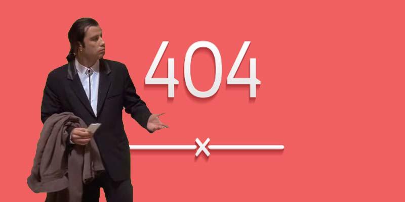 que es un error 404 soluciones