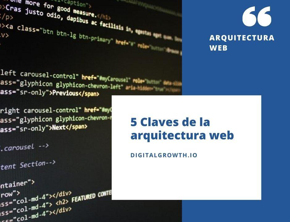 5 Claves de la arquitectura web