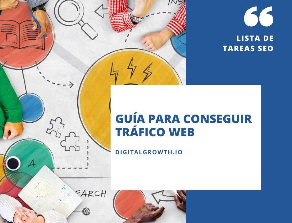 GUÍA PARA CONSEGUIR TRÁFICO WEB