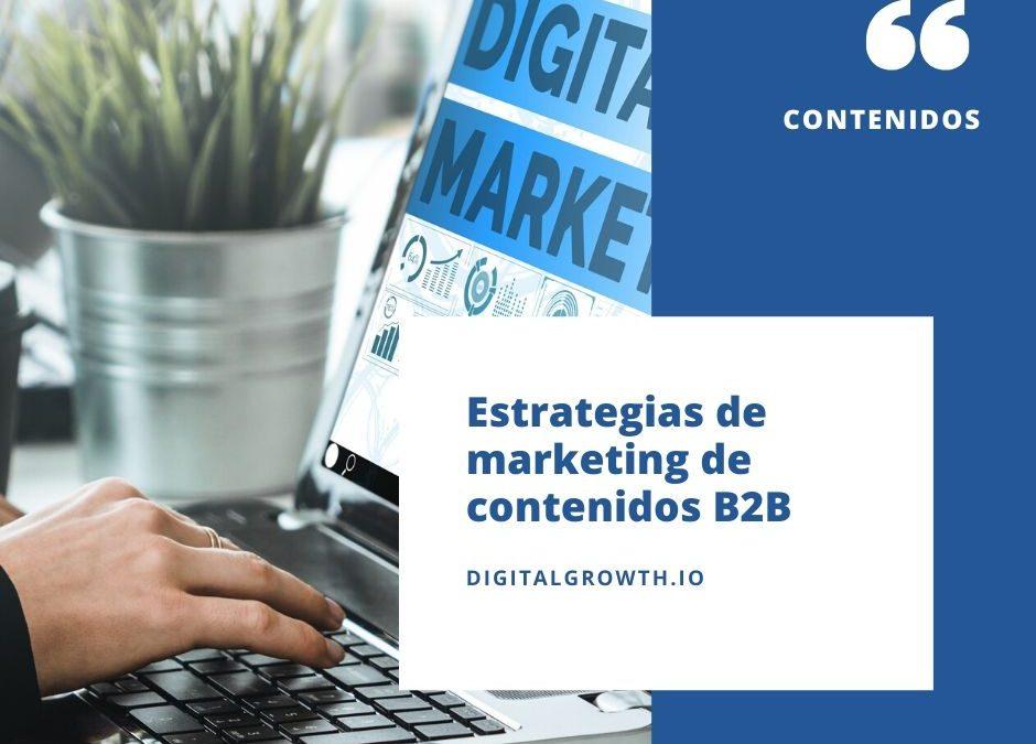 estrategia de marketing de contenidos b2b