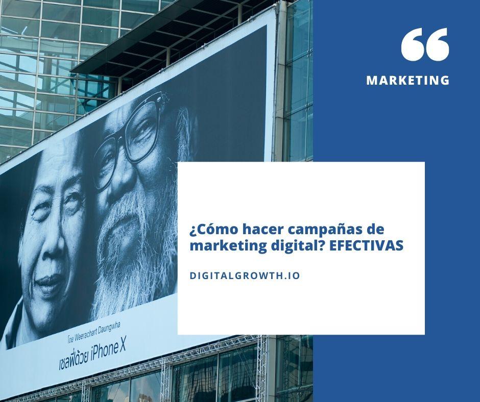 Cómo hacer campañas de marketing digital