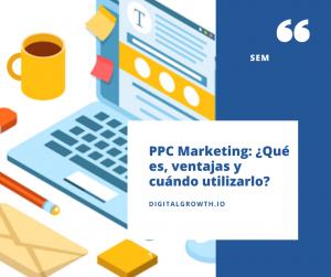 PPC marketing que es ventajas